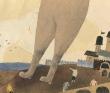 原田俊二 コラージュ、人物、物語、色鉛筆、パステル、装画コンペVol.16、守先正賞。