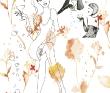 はやさきちーこ 女性、ファッション、植物、静物、テキスタイル。