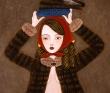 樋上公実子 装丁、絵本、広告。美少女、動物、花、お菓子。