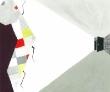 姫野はやみ アクリル絵具、墨汁、鉛筆、水彩紙、風景、虫、モノクロ、装画コンペvol.11 グランプリ。