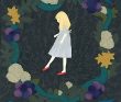 いわがみ綾子 ファンタジー、レトロ、アクリルガッシュ、色鉛筆、装画コンペ vol.16、鈴木久美賞。