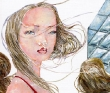 2012個展THIS HOT HEAVENより 「ビル風」