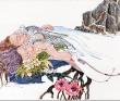 2010年個展より「花と根」