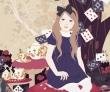 加藤木麻莉 女性、少女、花、童話、装画コンペvol.7 望月玲子賞。