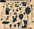 近藤圭恵 装丁、挿絵、TIS、食物、風景、オイルパステル、装画コンペvol.15 古閑里良賞。