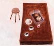 宮崎裕子 花、植物、小動物、食べ物、音楽、色、優しい、線、一筆描き。
