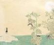 桃山鈴子 いもむし、アルシュ、インク、ペン、鉛筆、装画コンペvol.19 準グランプリ。