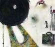 中井絵津子 銅版画、水彩、アクリル、銅版画、風景、不思議、子供、装画コンペvol.11 藤田知子賞。
