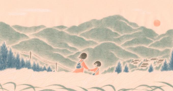 長田結花 文芸、挿絵、装画、児童書、人物、子ども、少女、少年、漫画、時代物、日本。