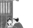 文芸誌挿絵/「えにし屋春秋」あさのあつこ著、角川晴樹事務所『ランティエ』
