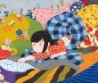 菅原毅己 日本風、和風柄、デジタル、蝶、子供、動物、Mac、Illustrator、Photoshop。