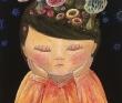 山本いつこ アクリル絵の具、クレヨン、子ども、ファンタジー、きのこ、童画。