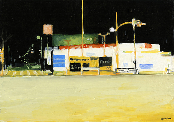 「車のレストラン Gas station」© Hiromichiito
